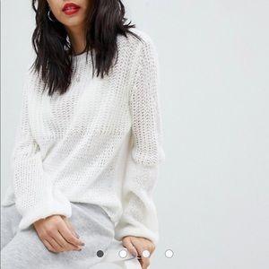 Micha Lounge Open Knit Oversized Sweater